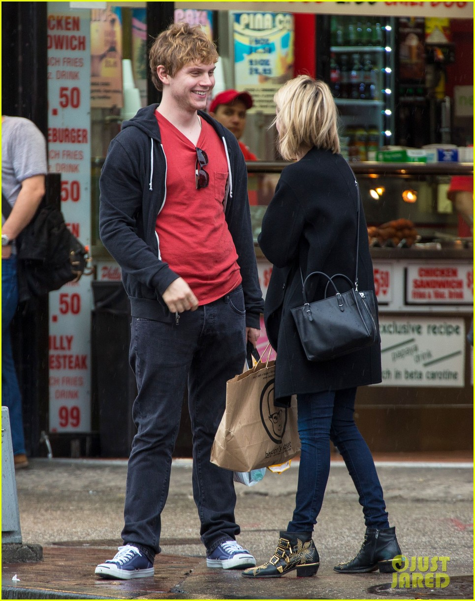 emma roberts evan peters look so in love in new york city 133098007
