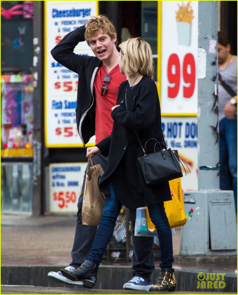 emma roberts evan peters look so in love in new york city 143098008