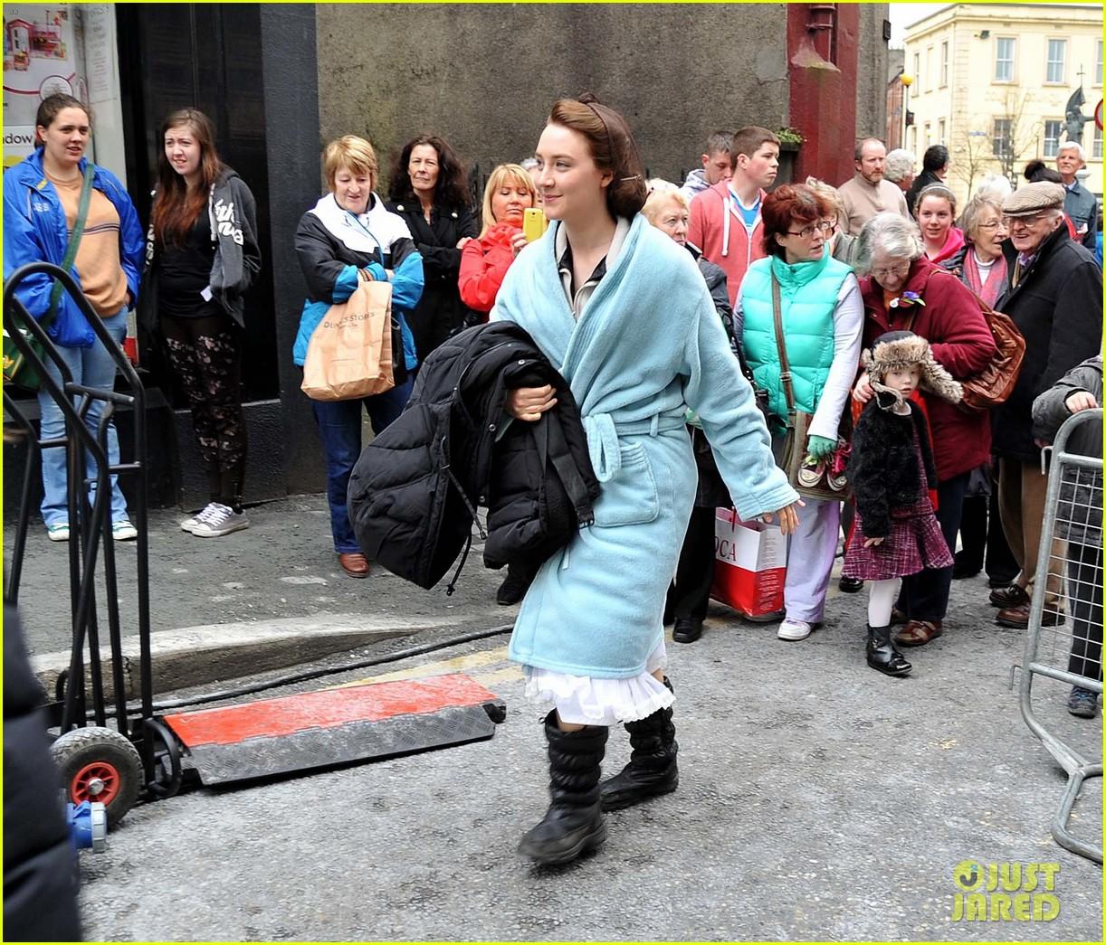 saoirse ronan begins filming brooklyn in ireland 123082773