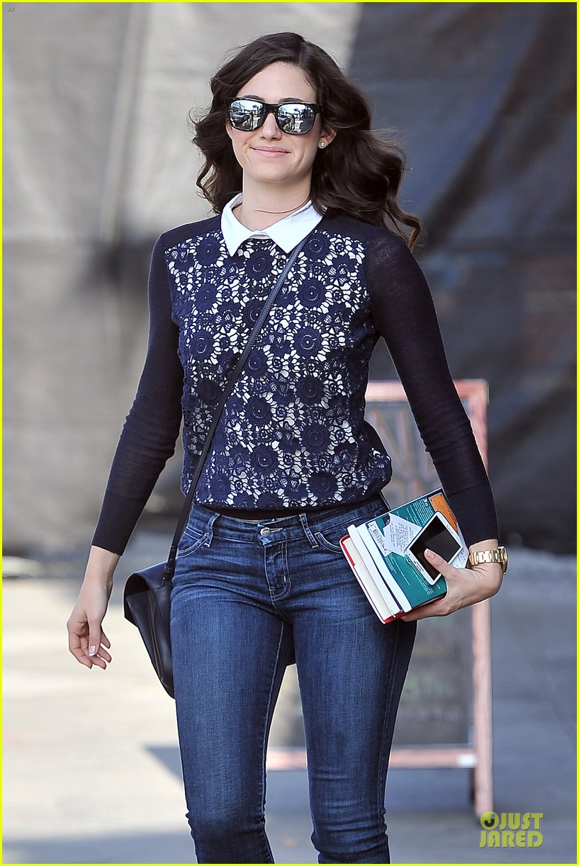emmy rossum beautiful brainy book worm 023093716