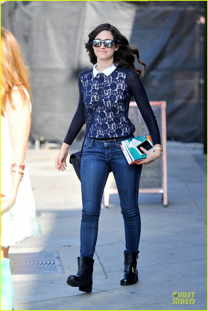 emmy rossum beautiful brainy book worm 103093724