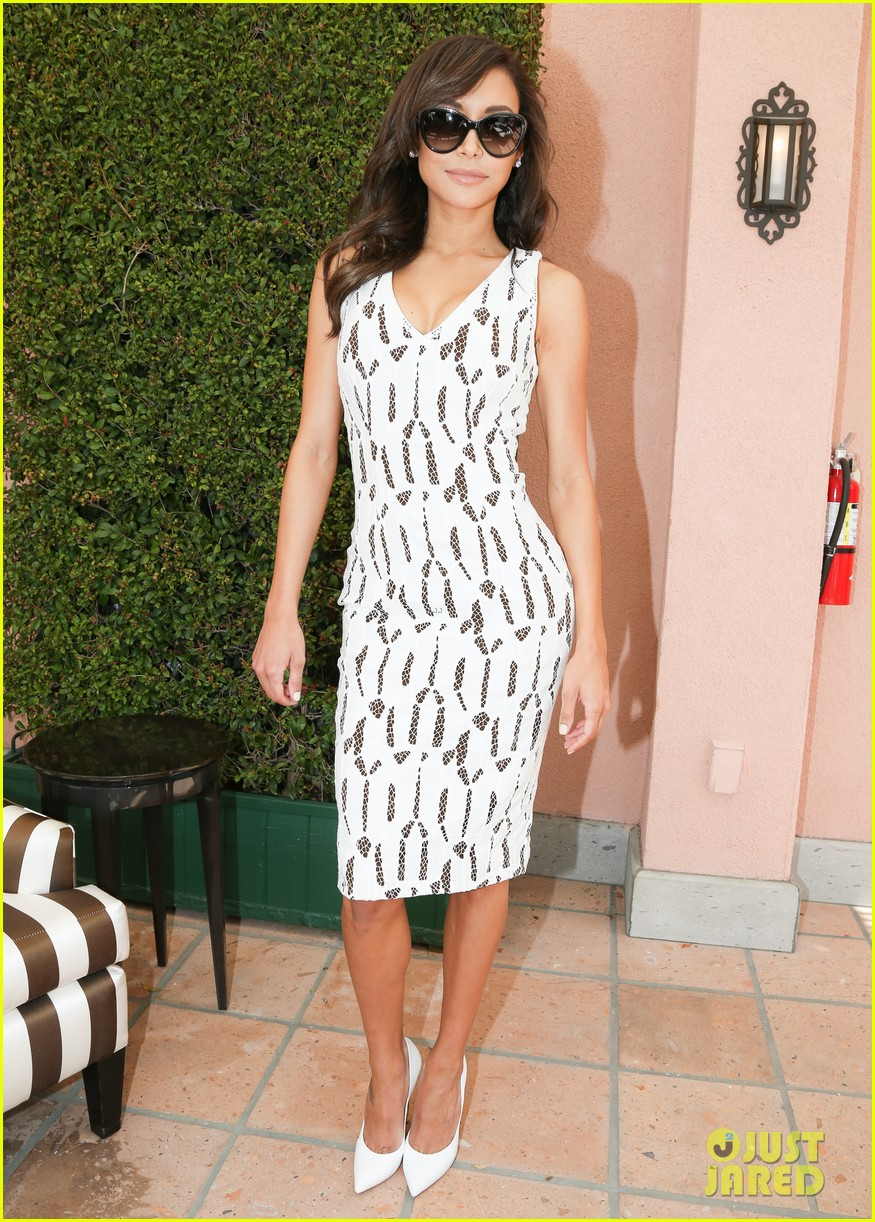 emmy rossum naya rivera carolina herrera luncheon 093098445