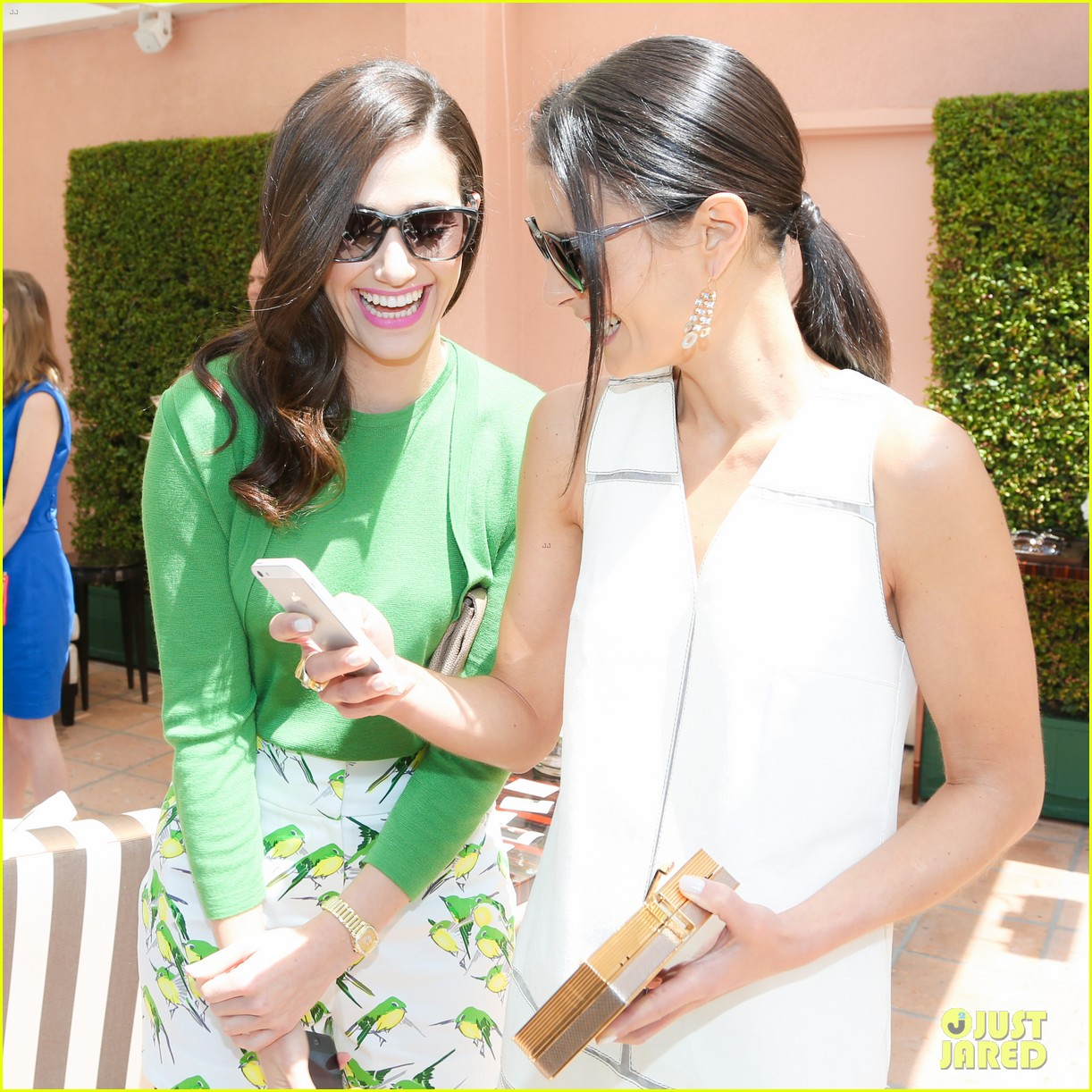 emmy rossum naya rivera carolina herrera luncheon 103098446
