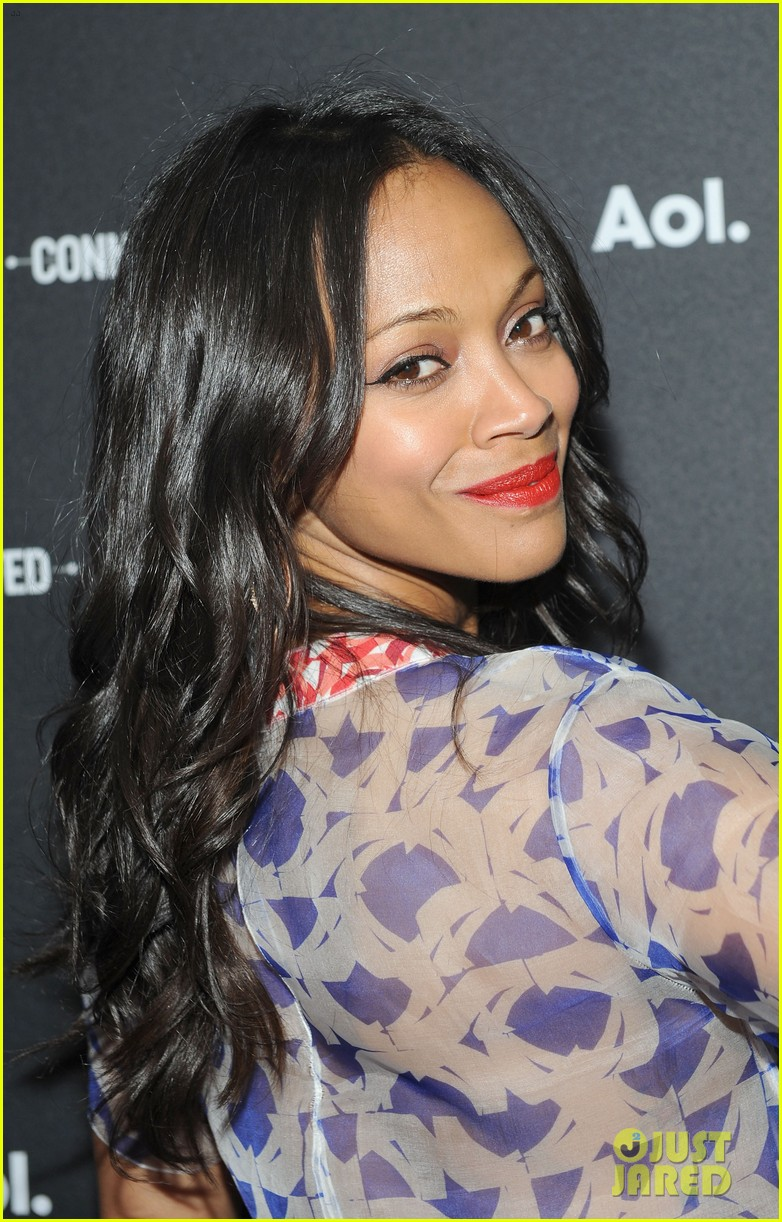 zoe saldana marco perego first appearance together 123101864