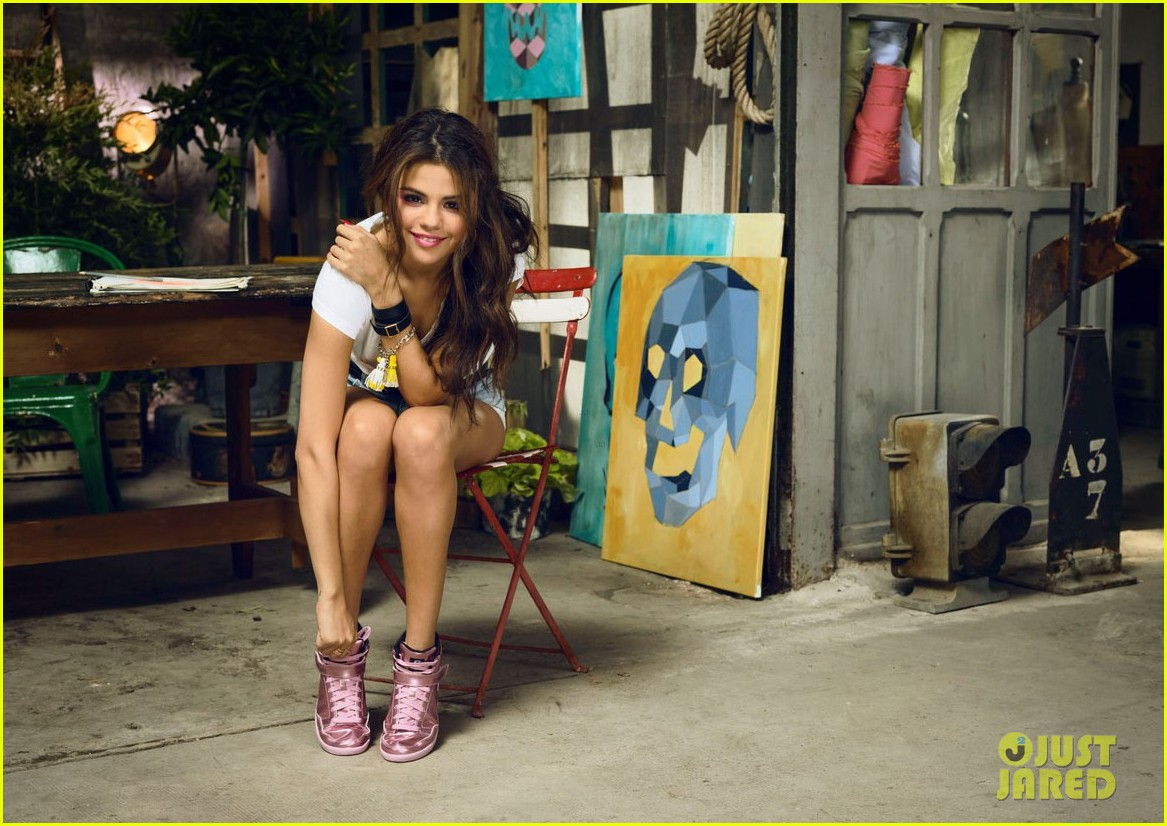 selena gomez is all style fun for adidas neos summer campaign 043093357