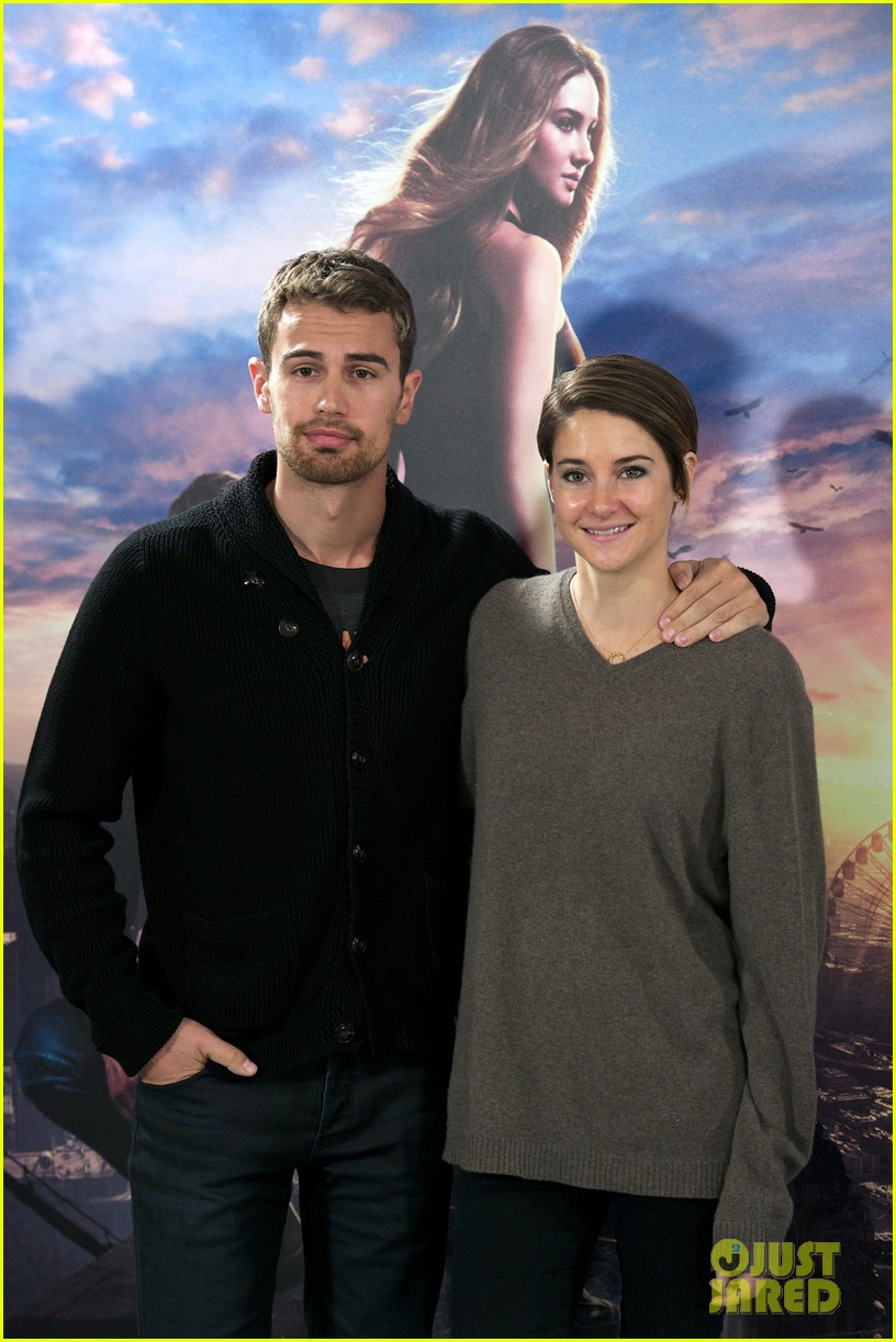 shailene woodley theo james explain that divergent is nothing like hunger games 063083908
