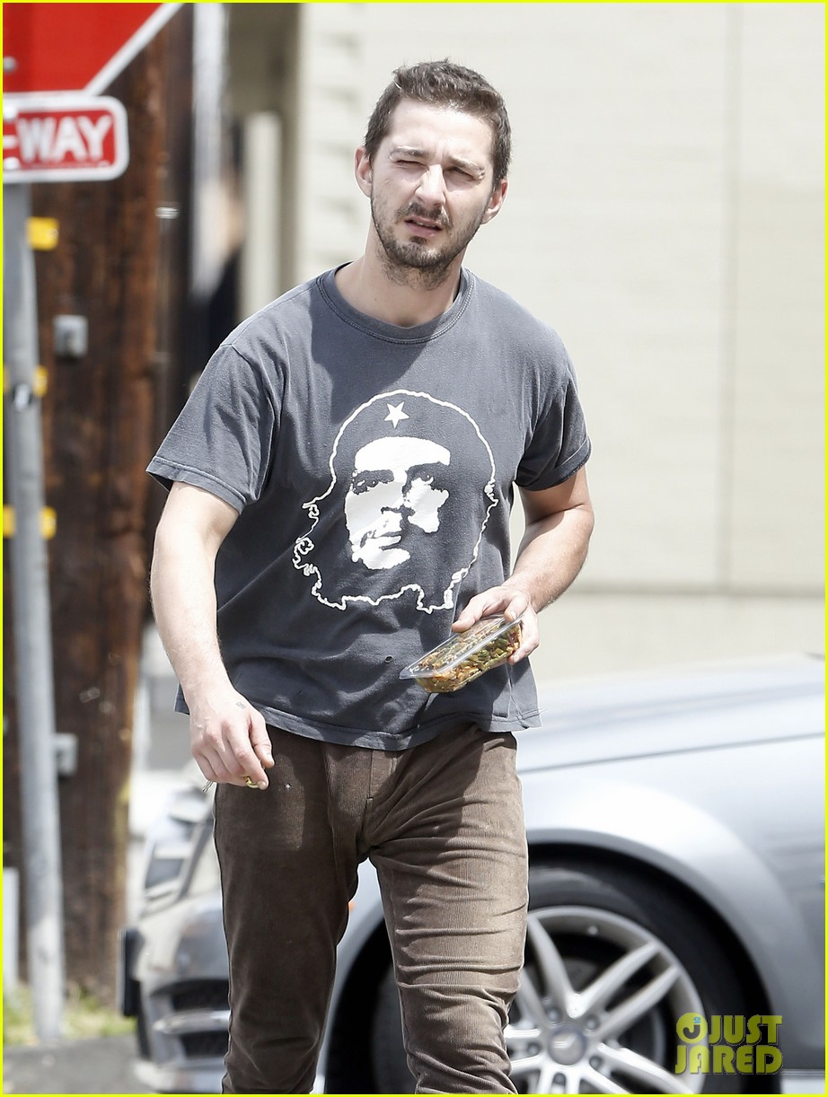 shia labeouf reportedly bought lunch for a homeless man 043094450