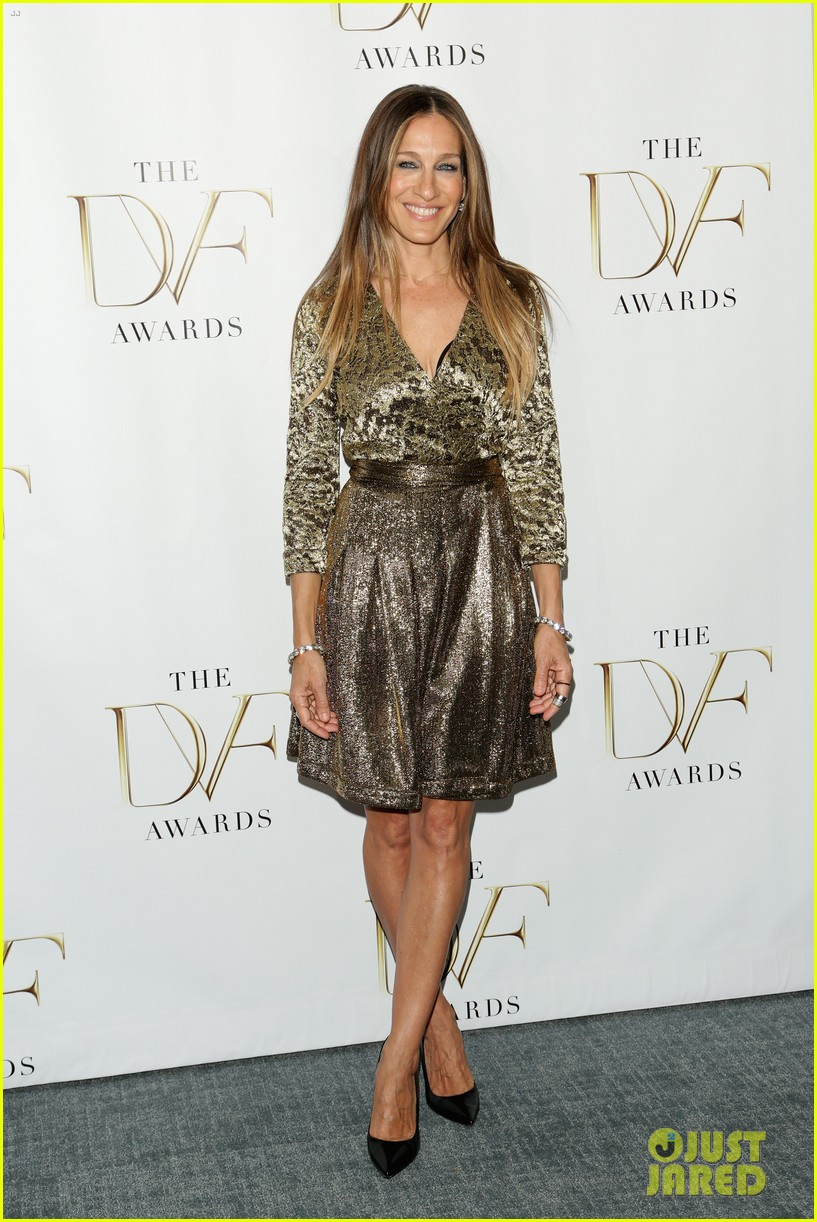 sarah jessica parker alicia keys dvf awards 013084799