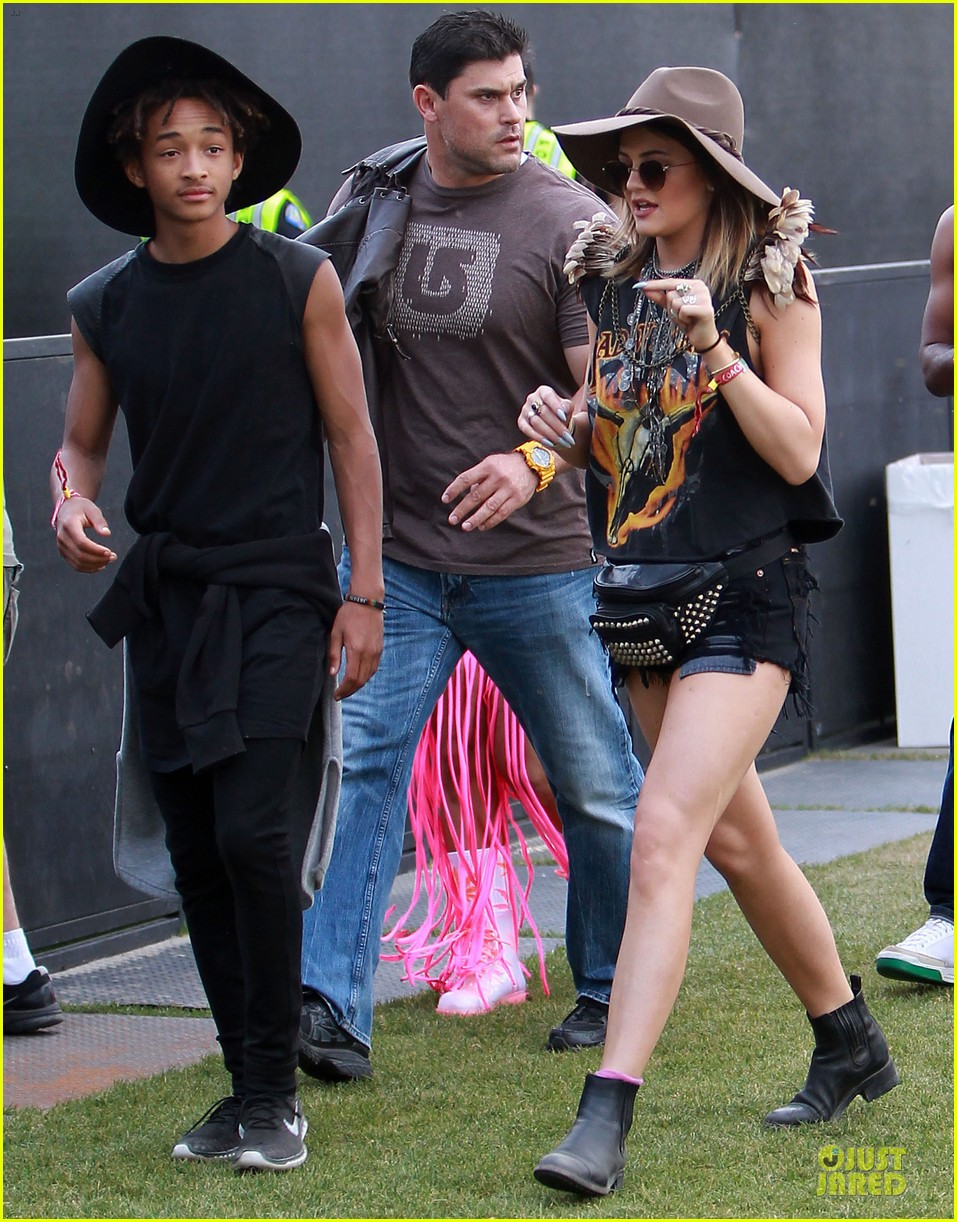 jaden smith kylie jenner hats at coachella 013094999