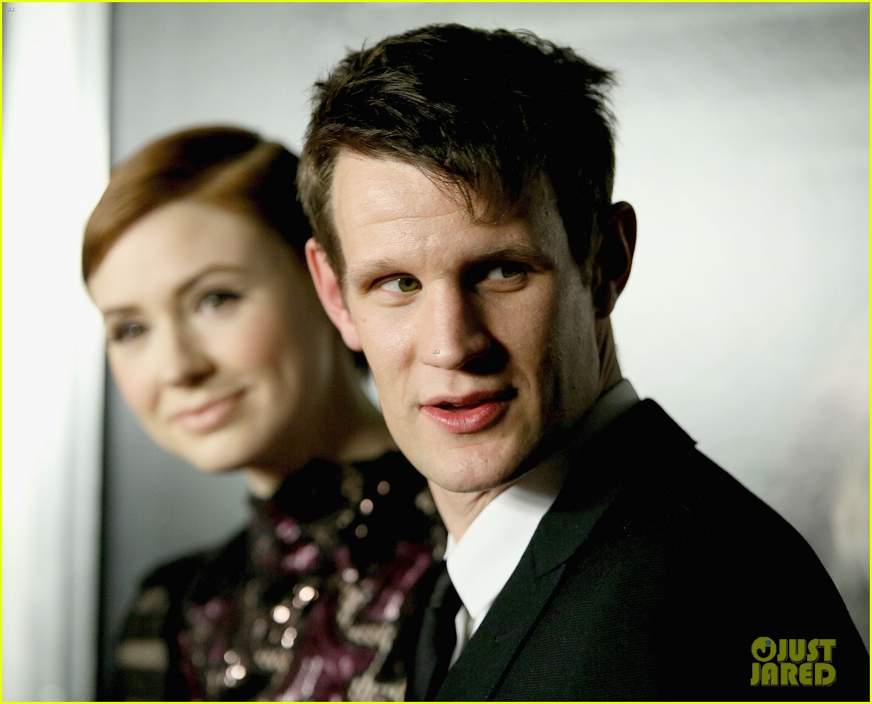 doctor who matt smith karen gillan oculus premiere 073084382