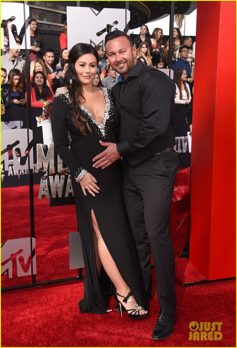 snooki jwoww pregnant pals at mtv movie awards 2014 053091061