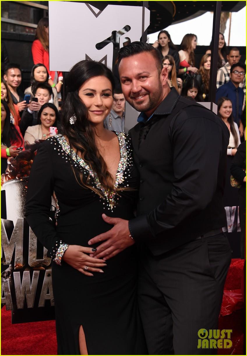 snooki jwoww pregnant pals at mtv movie awards 2014 063091062