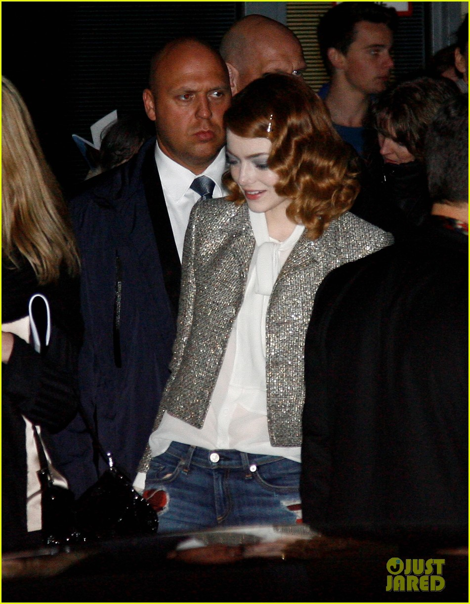 emma stone dresses down after spider man 2 berlin premiere 153092868
