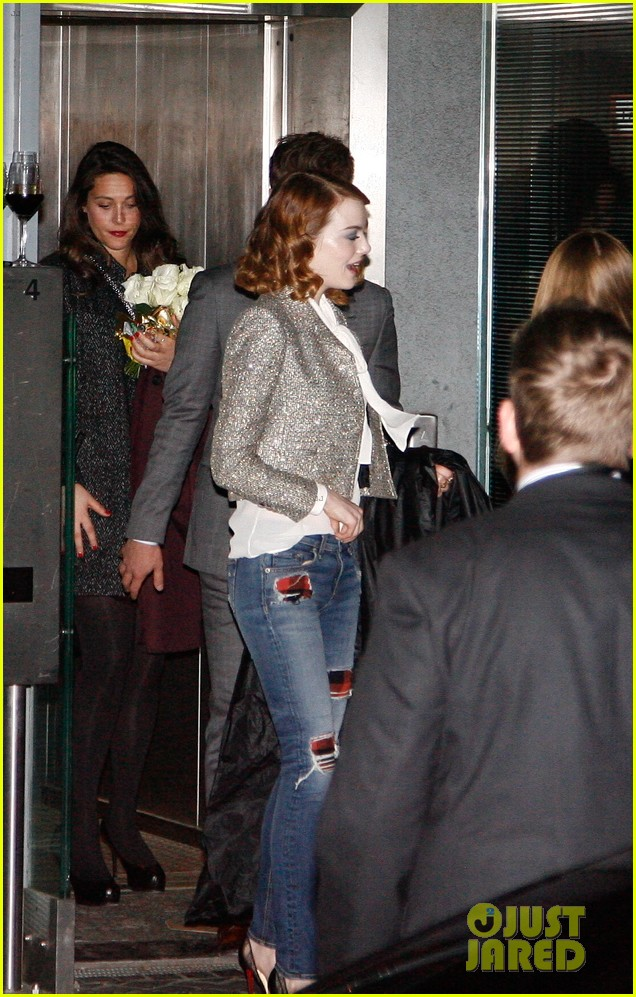 emma stone dresses down after spider man 2 berlin premiere 163092869