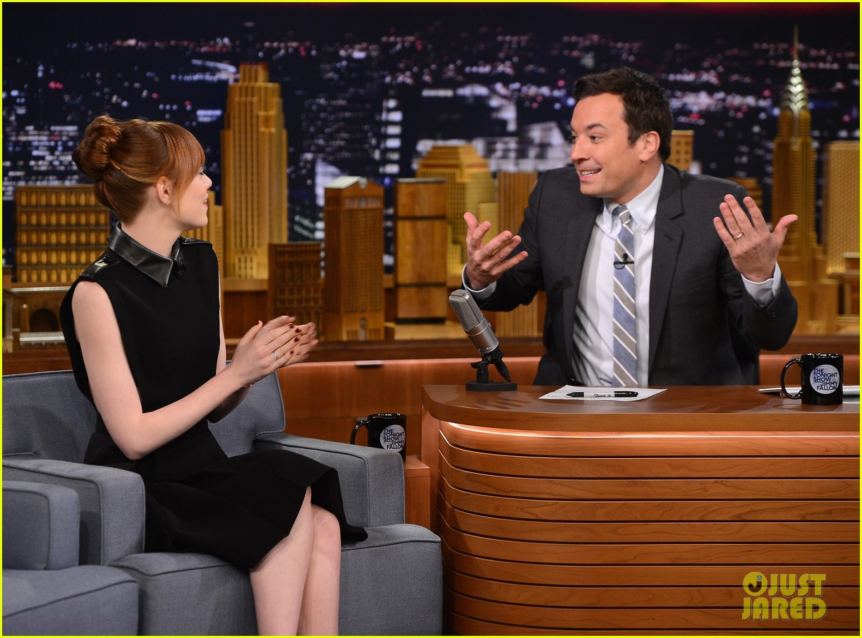 emma stone lip sync battle jimmy fallon 063101289