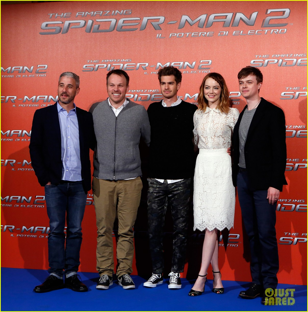 emma stone braids her hair spider man 2 rome photo call 033091746