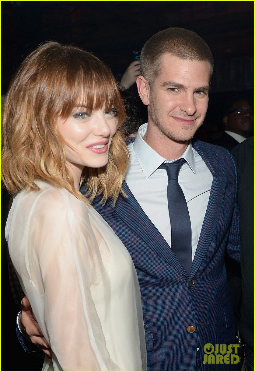 emma stone slips into another dress for amazing spider man 2 after party 233099016