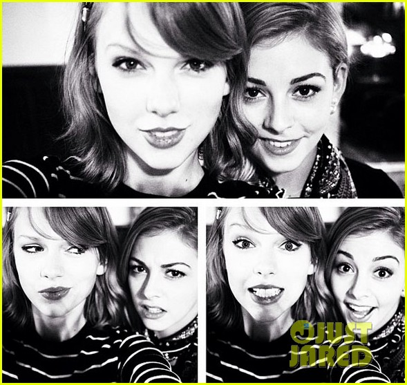 taylor swift makes another new friend in olympian gracie gold 023088463