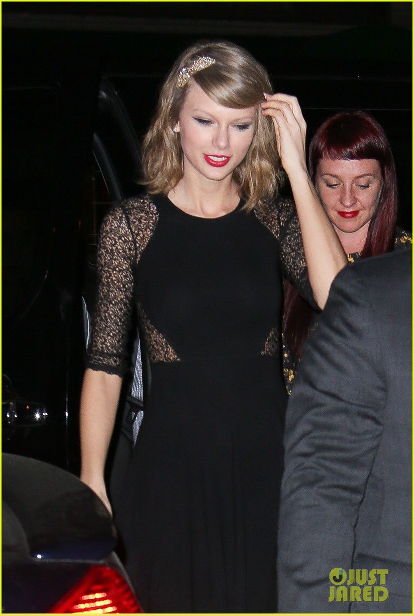 taylor swift ed sheeran saturday night live party 043090770
