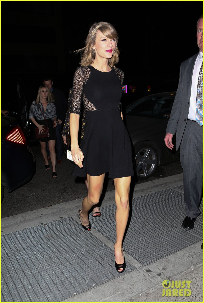 taylor swift ed sheeran saturday night live party 053090771