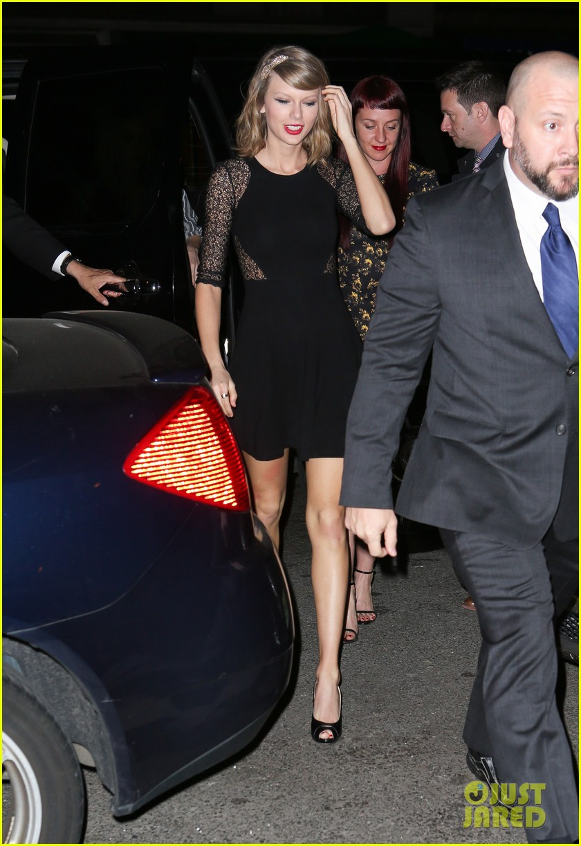 taylor swift ed sheeran saturday night live party 06