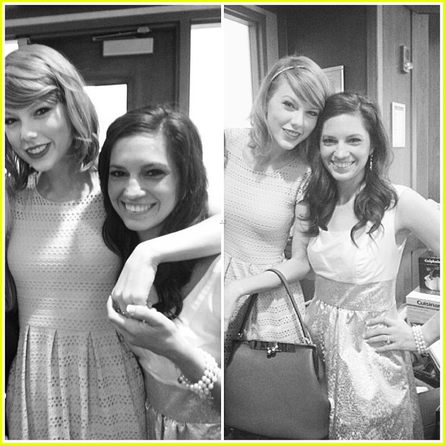 taylor swift proves shes awesome by surprising fan at bridal shower in ohio 023091641