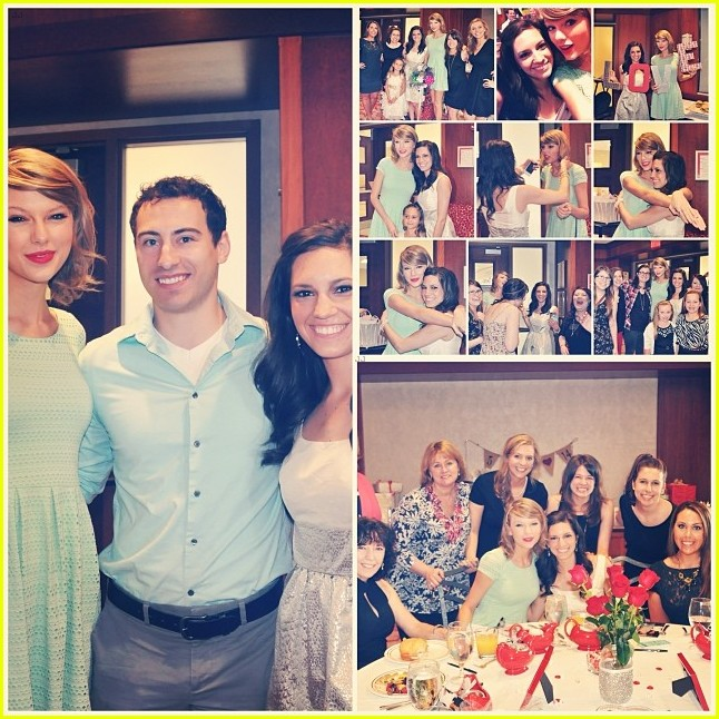 taylor swift proves shes awesome by surprising fan at bridal shower in ohio 053091644