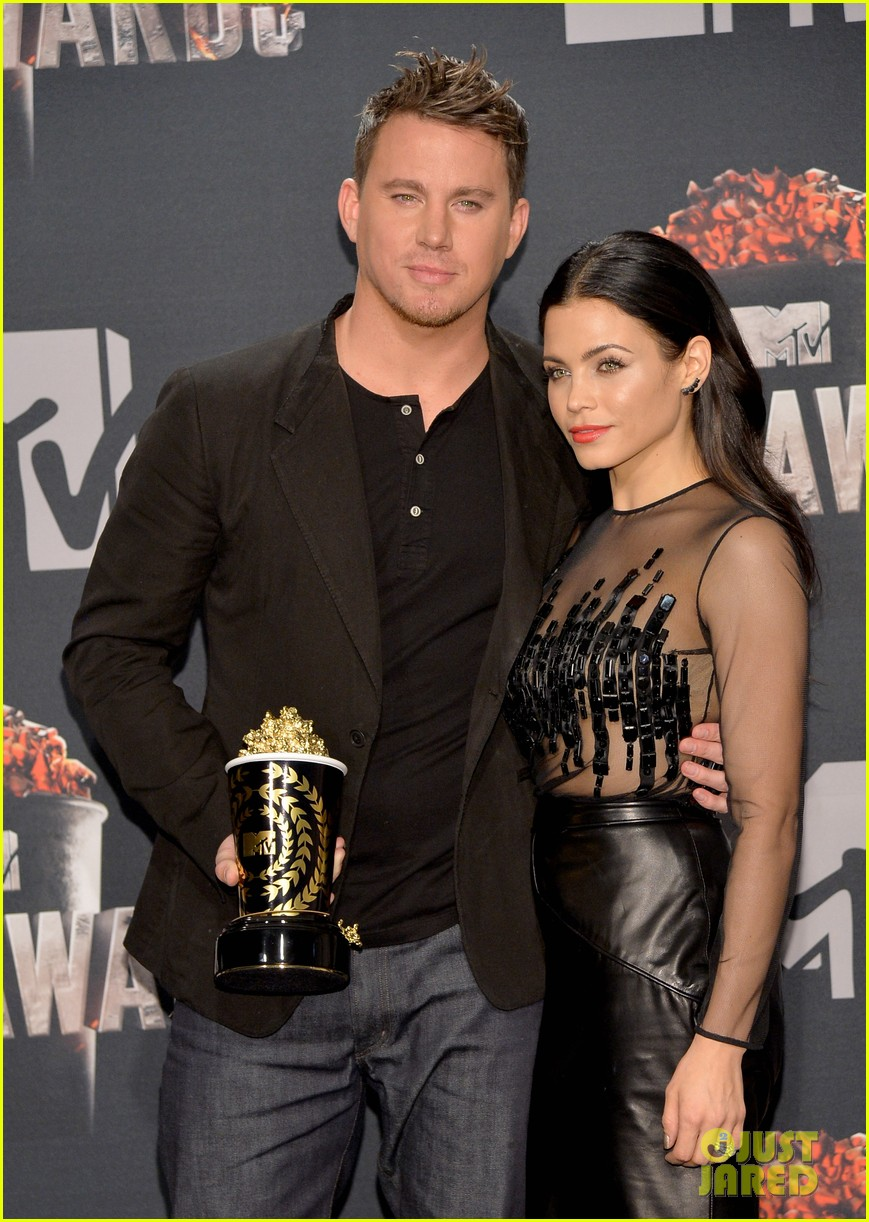 channing tatum wins trailblazer award at mtv movie awards 2014 023091349