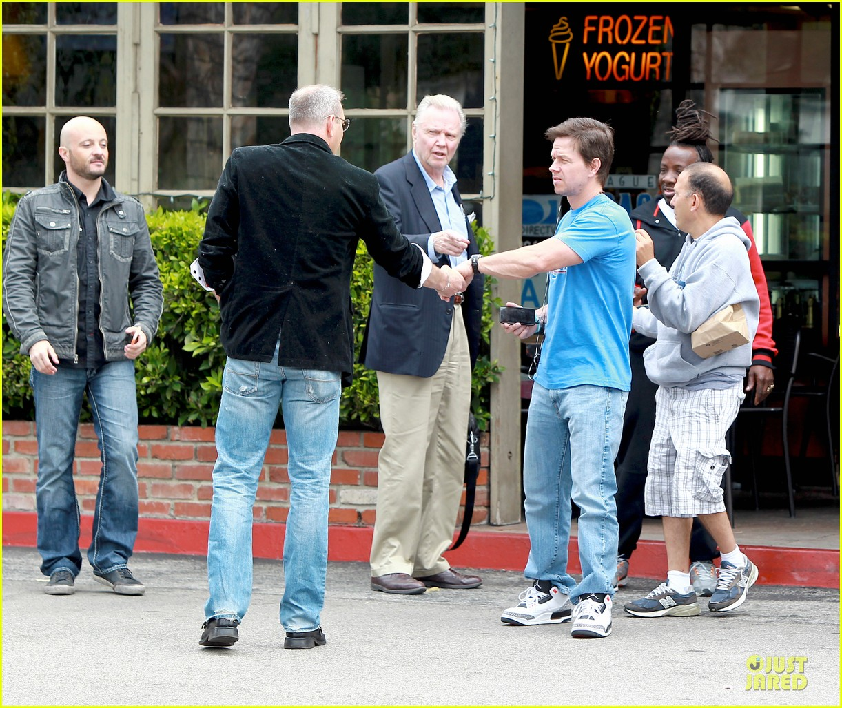 mark wahlberg meets up with jon voight 163099751