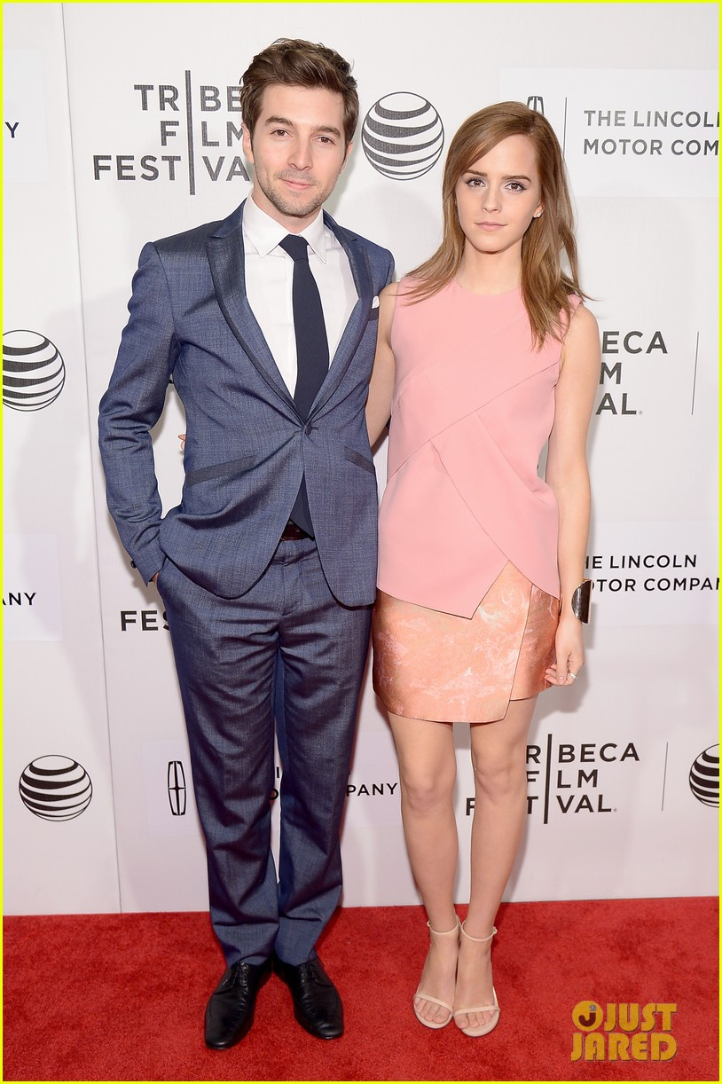emma watson supports longtime friend roberto aguirre at boulevard tribeca premiere 063095903