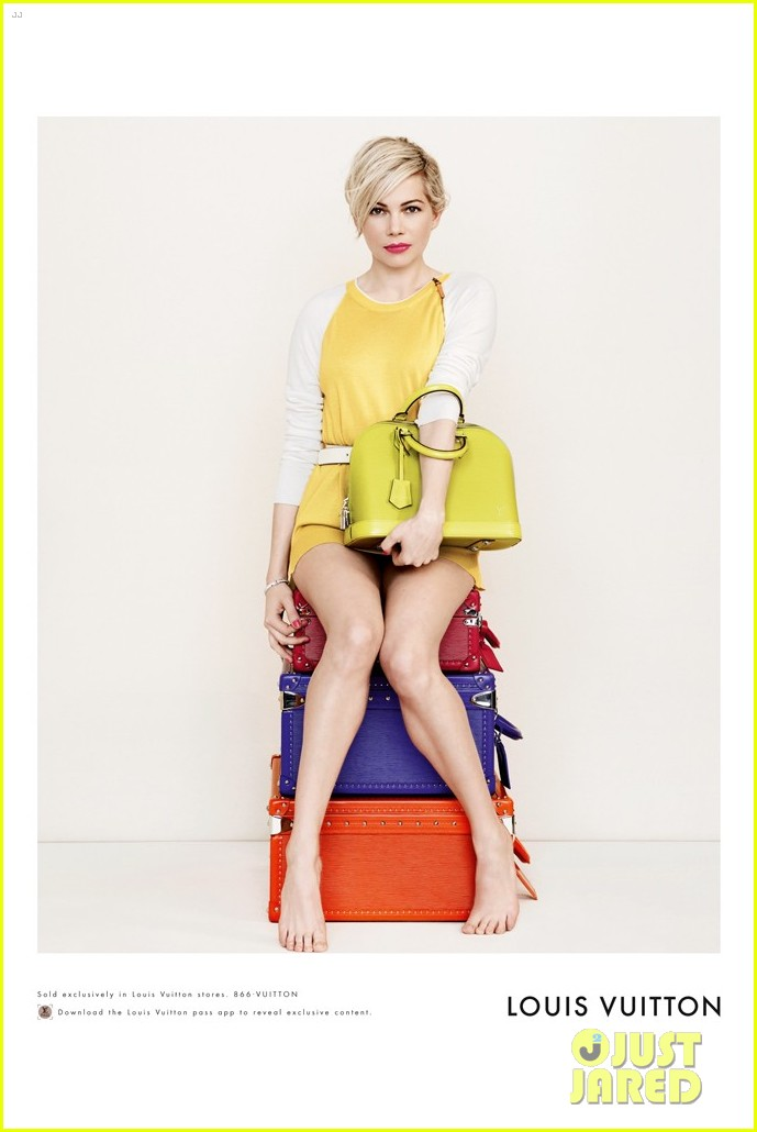 michelle williams new louis vuitton campaign 023088238