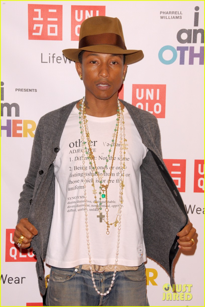 pharrell williams launches i am other collection at uniqlo 063101483