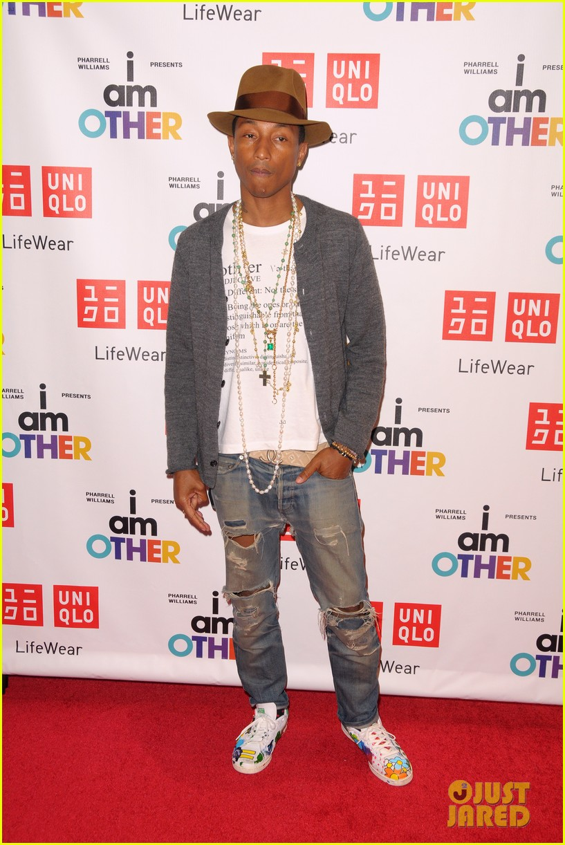 pharrell williams launches i am other collection at uniqlo 07