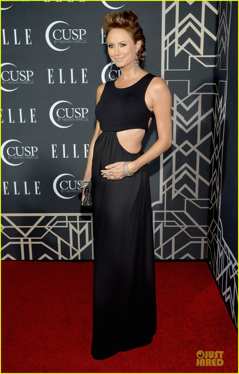 rumer willis cutout dress is sexy at elle music celebration 103097221