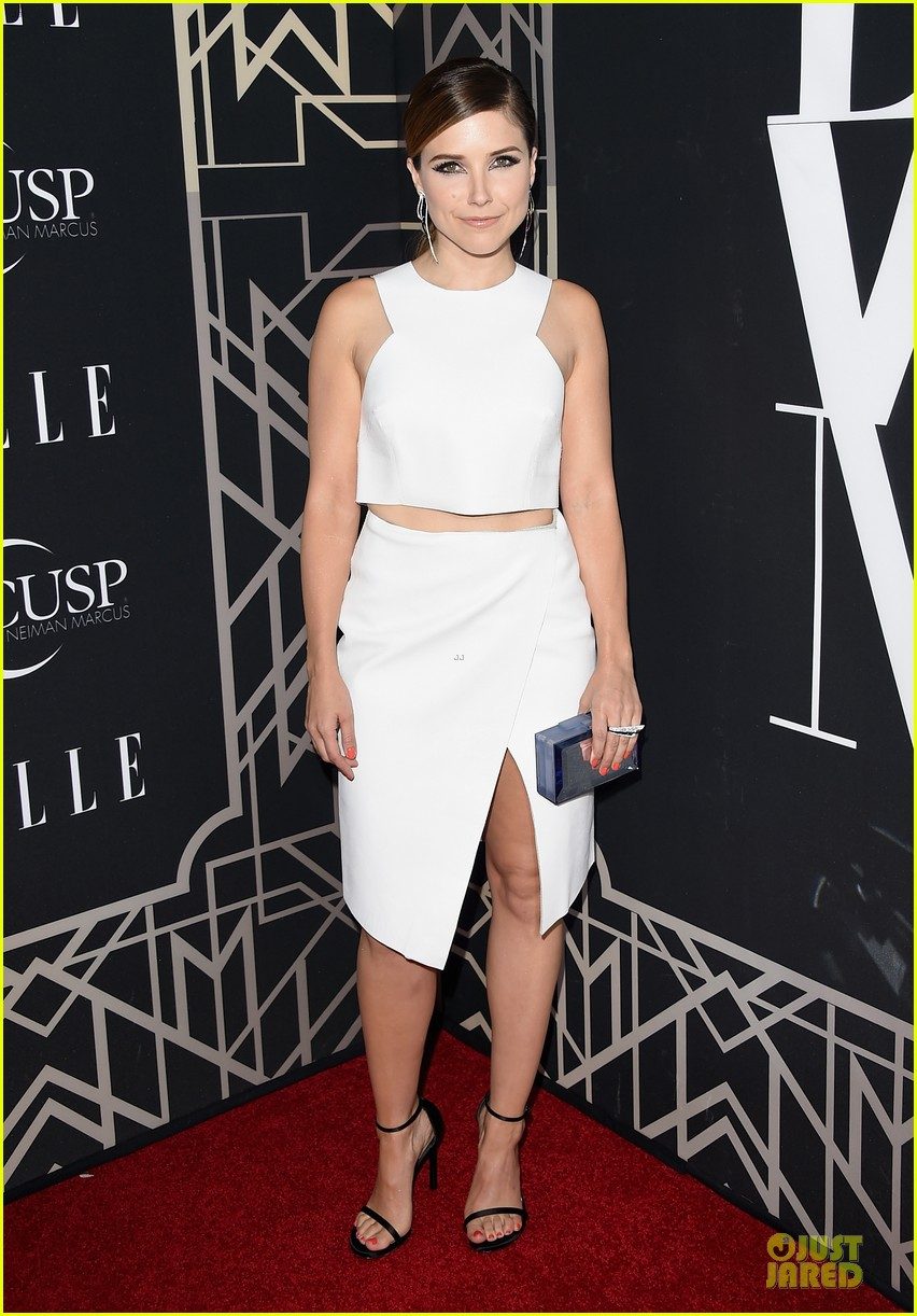 rumer willis cutout dress is sexy at elle music celebration 15