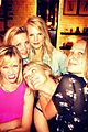 reese witherspoon makes a funny face at pals birthday party 02