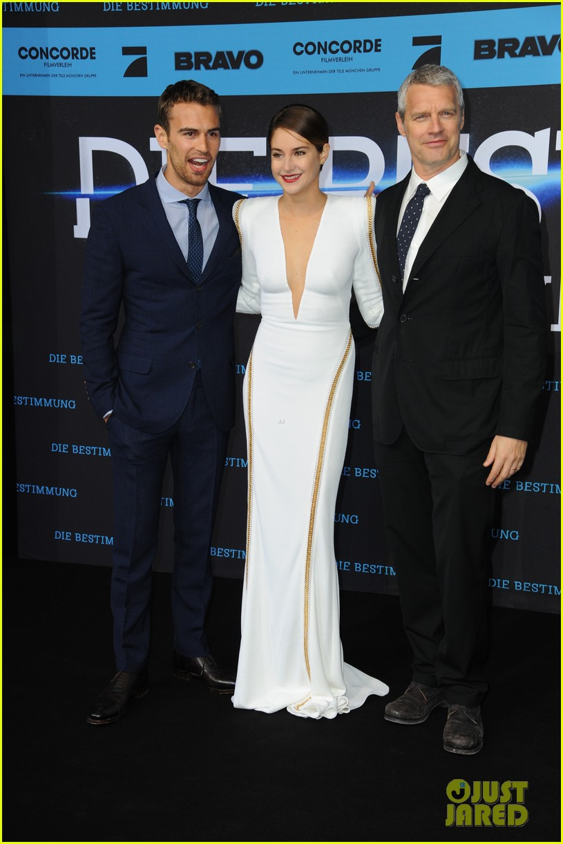 shailene woodley theo james bring divergent to germany 163082933
