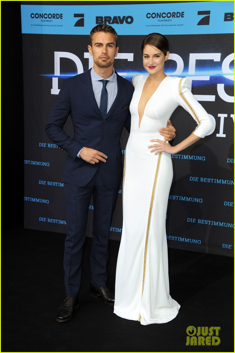 shailene woodley theo james bring divergent to germany 233082940