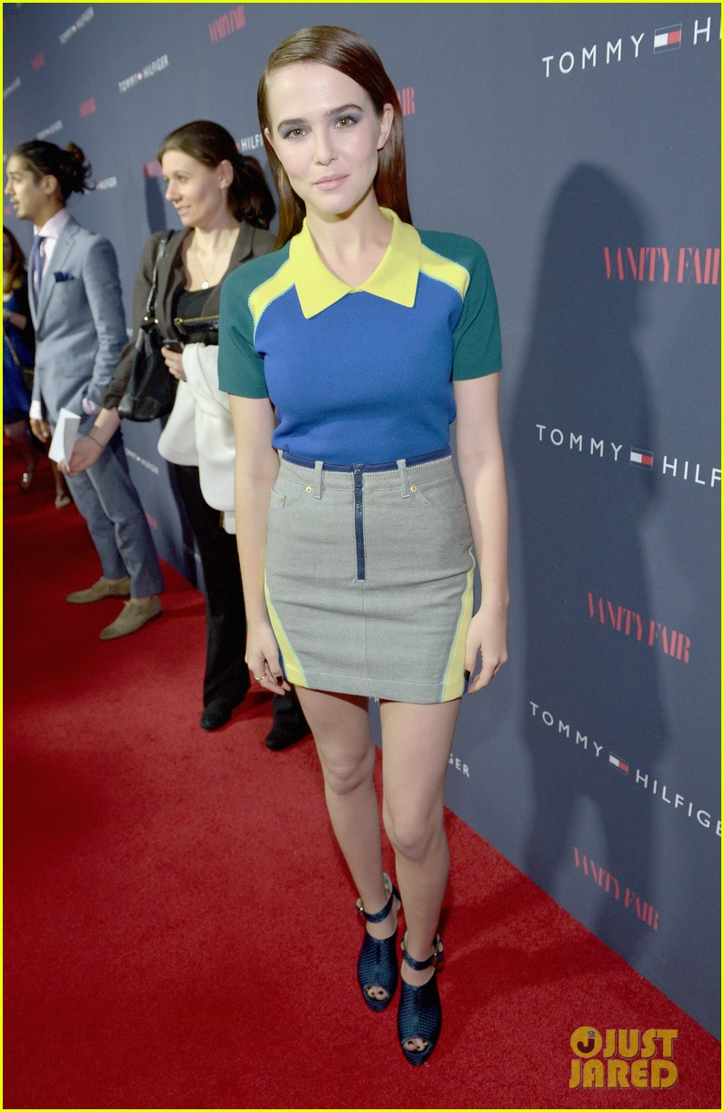 celebs step out to support zooey deschanel clothing line 033088207