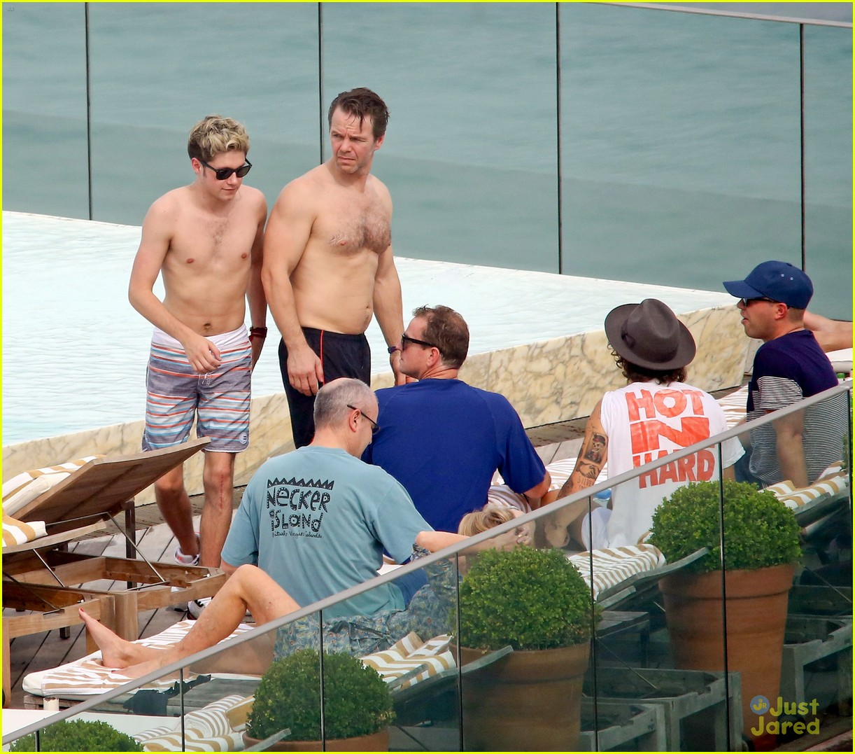 one direction harry niall rio shirtless 13