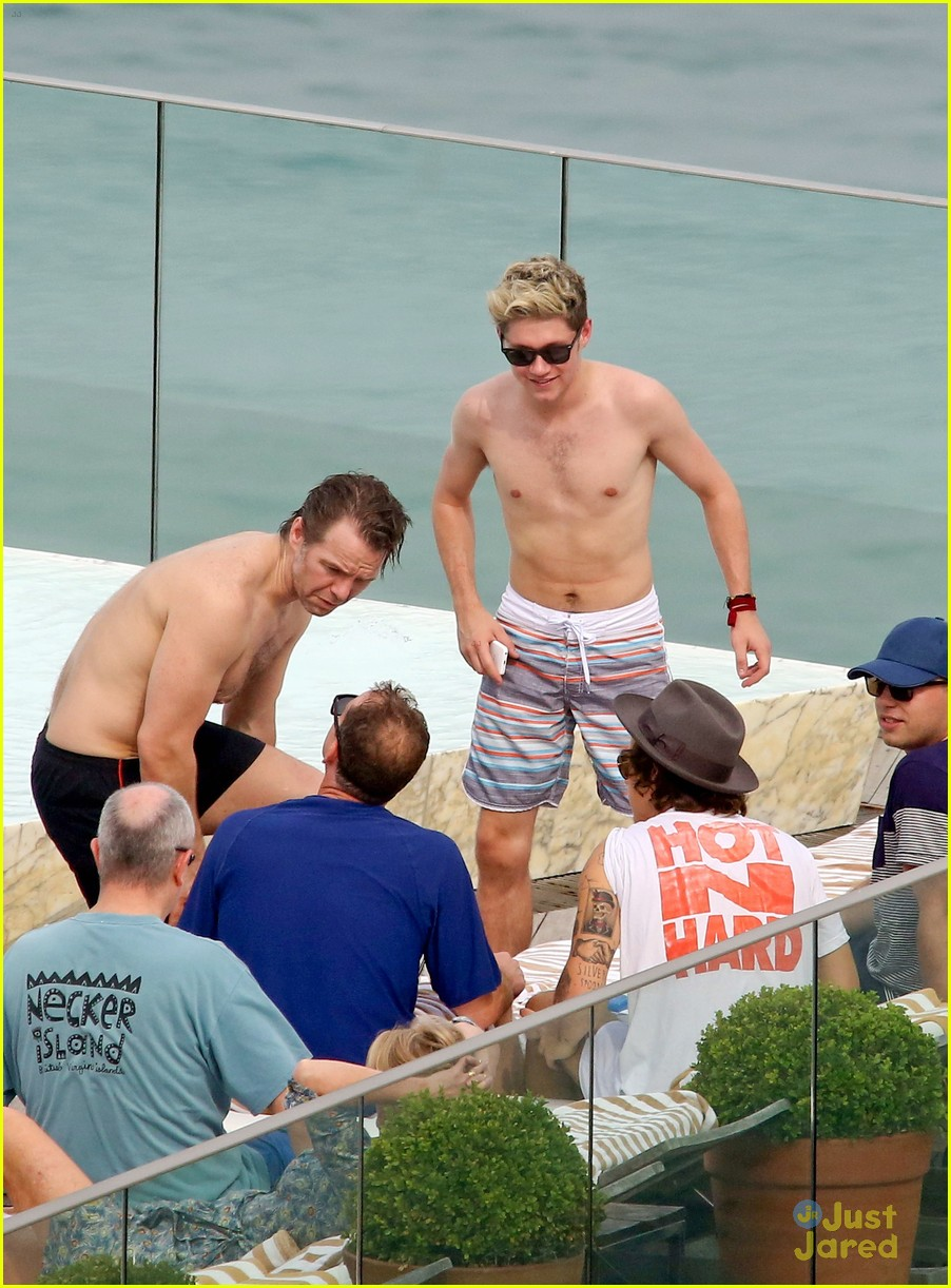 one direction harry niall rio shirtless 183107786