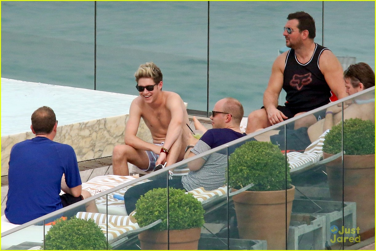 one direction harry niall rio shirtless 303107798