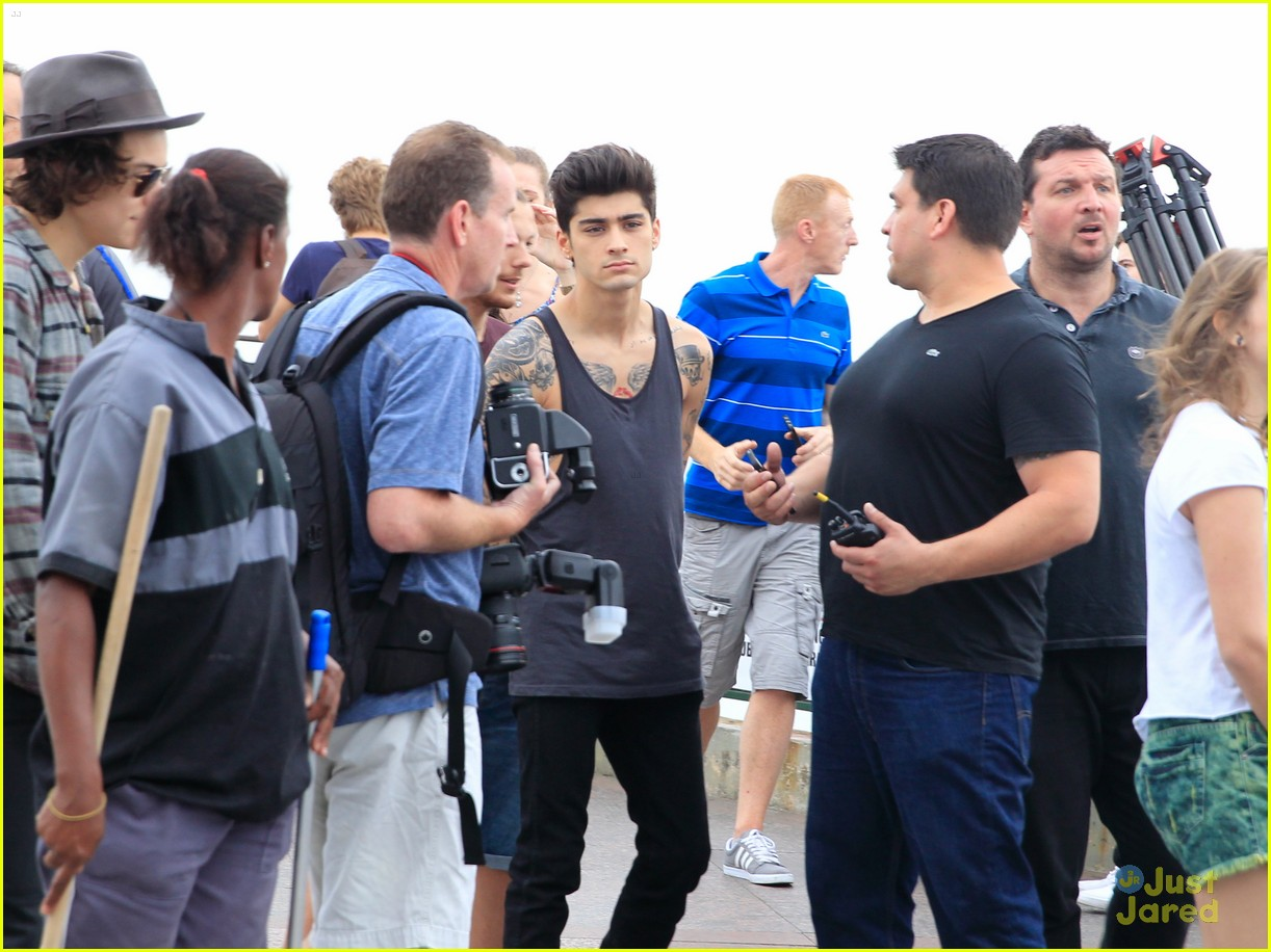 one direction visit christ redeemer statue 19