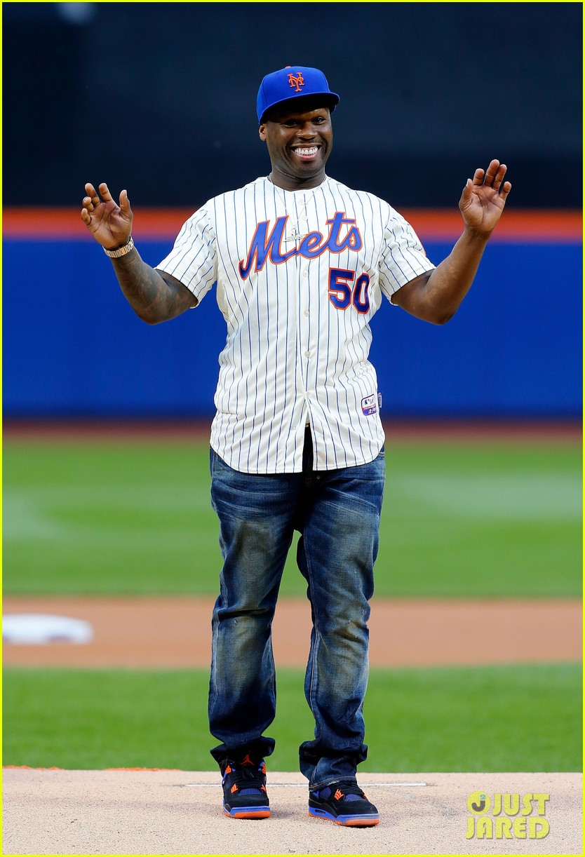 fifty cent throws first pitch mets game is way off the mark 023123235