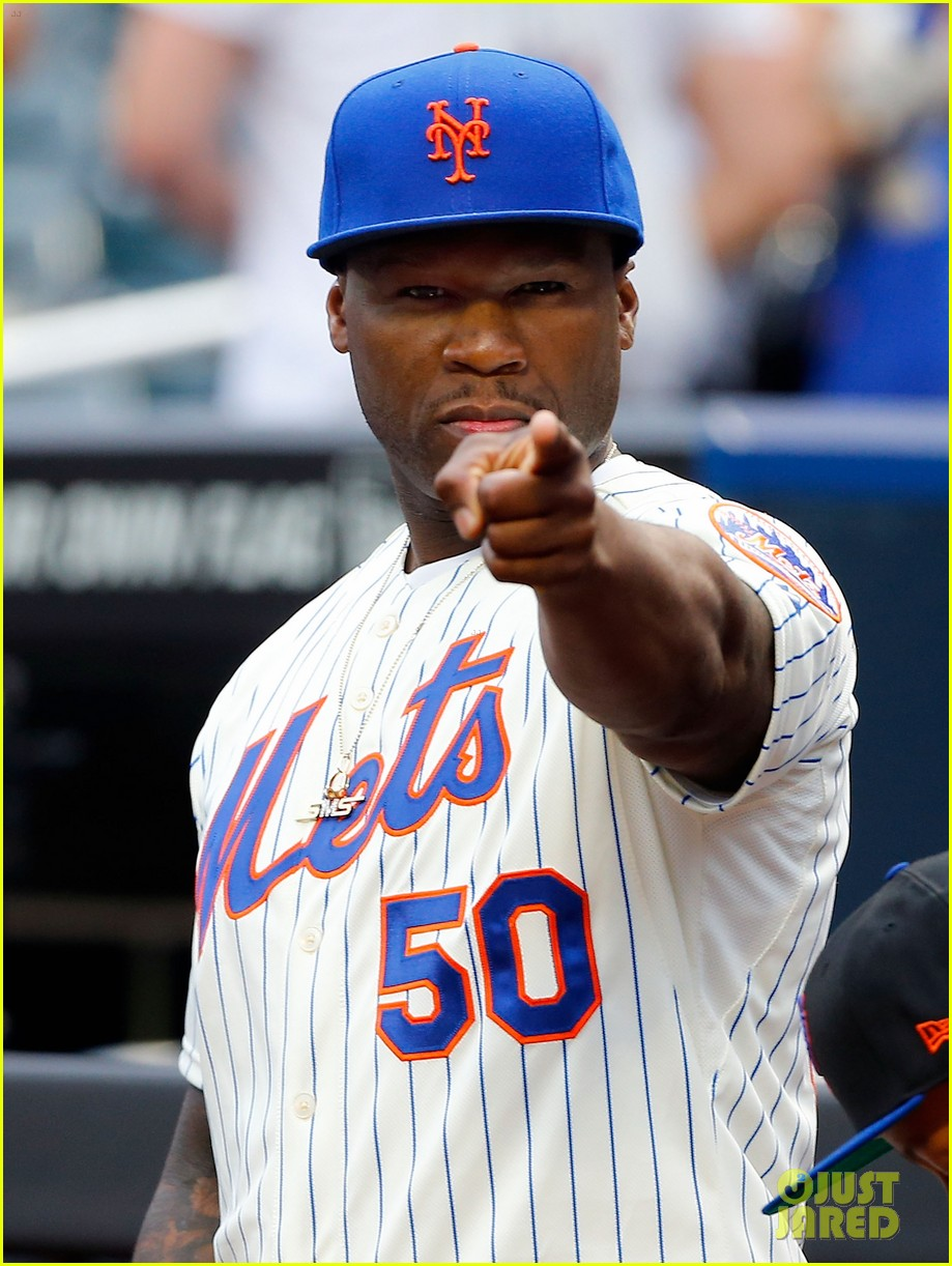 fifty cent throws first pitch mets game is way off the mark 033123236