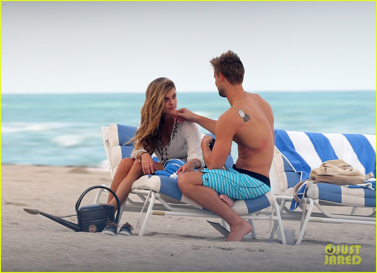 nina agdal reid heidenry making out 11