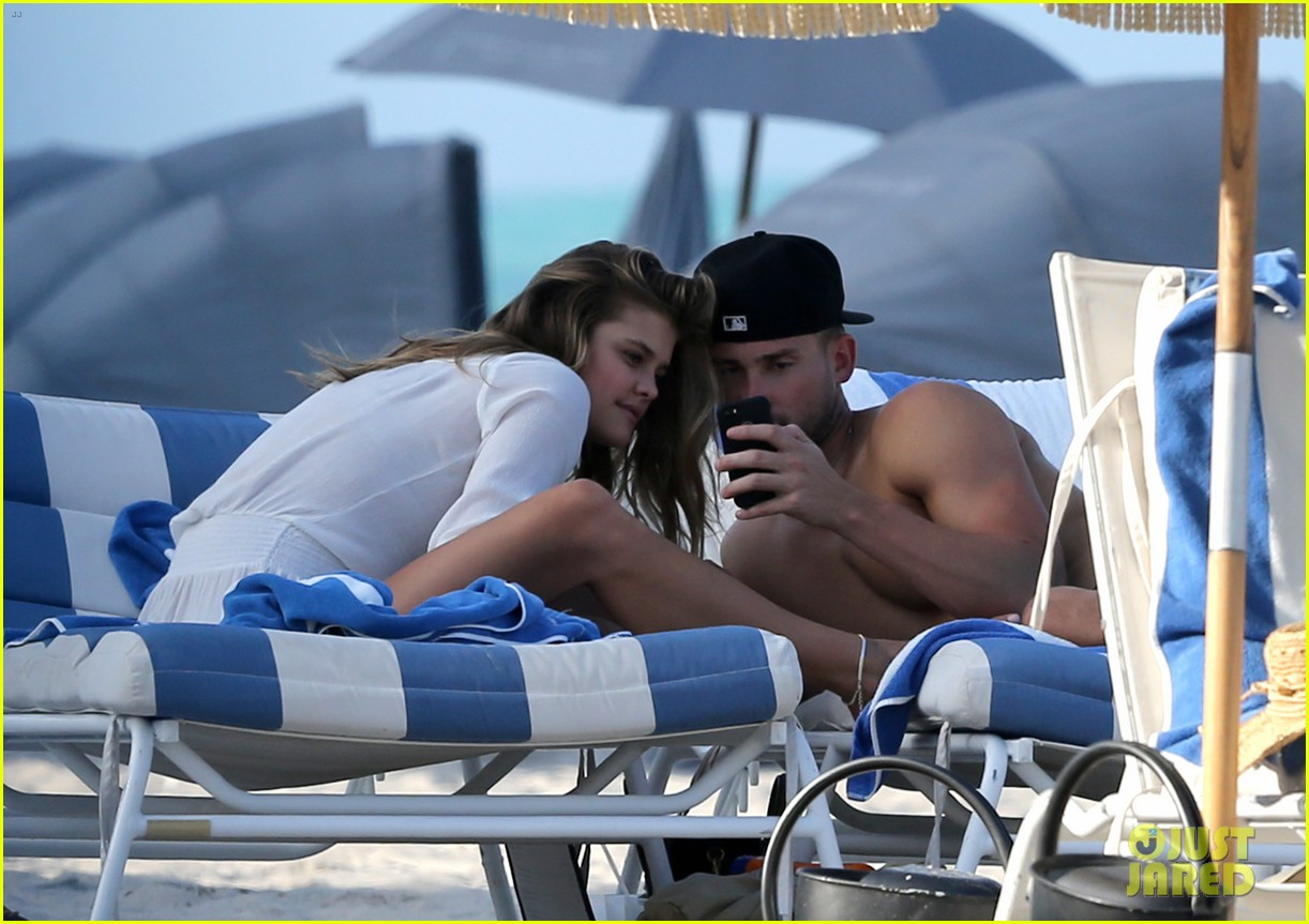 nina agdal reid heidenry making out 19