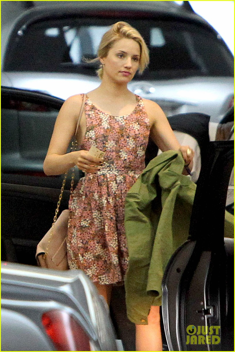 dianna agron braves los angeles heat lunch 063113613
