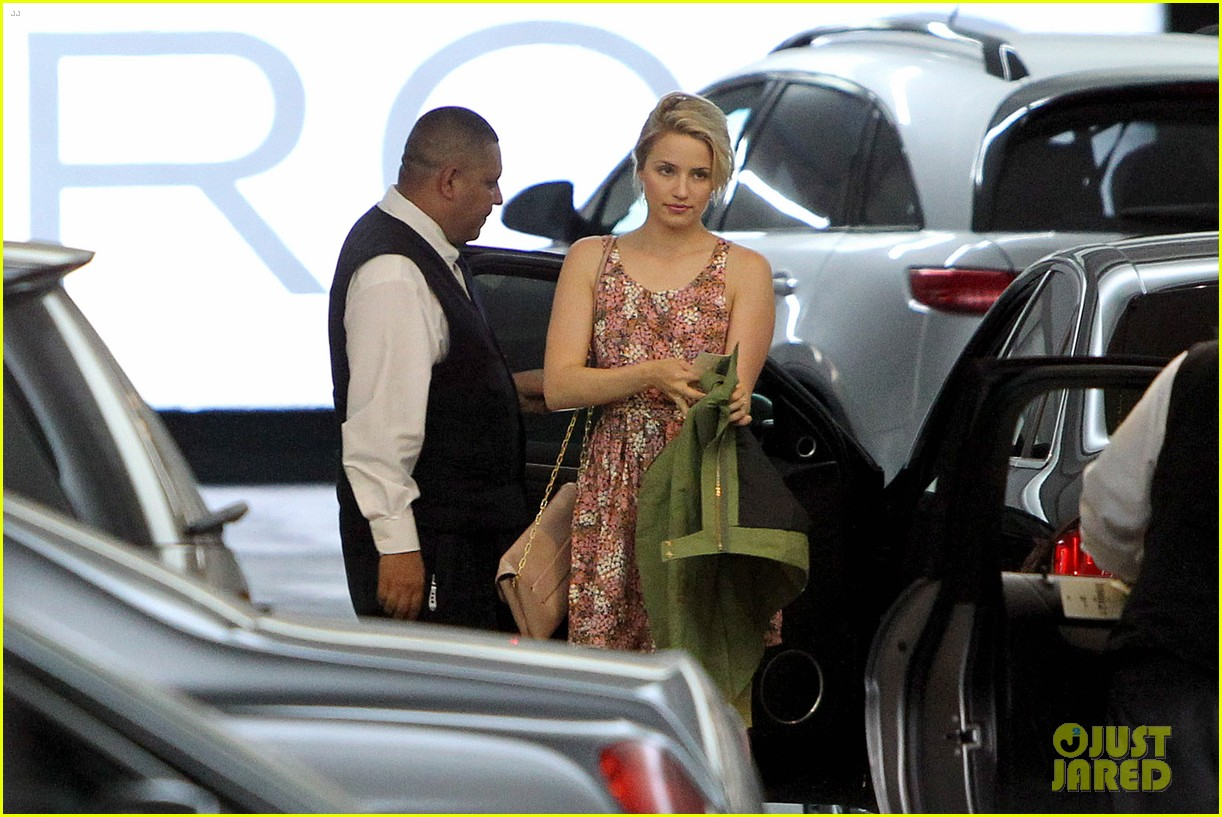 dianna agron braves los angeles heat lunch 073113614