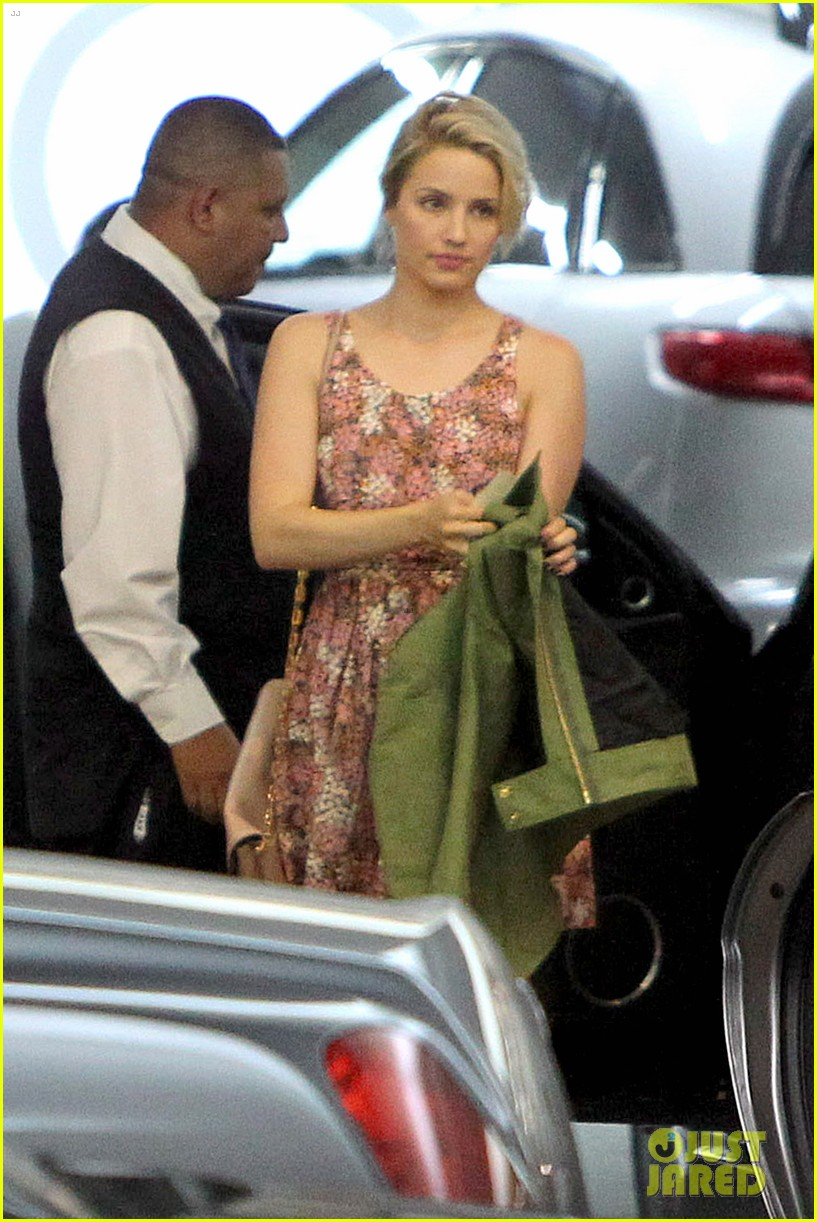 dianna agron braves los angeles heat lunch 123113619